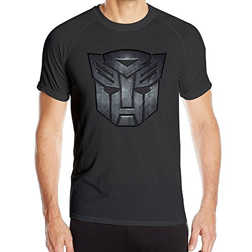 T&Tat Men's The Transformers Autobot Emblem Logo Quick Dry Athletic Tshirt Large