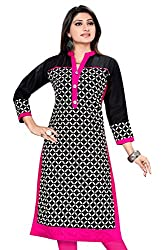 Amba Enterprises Plus Size Kurtis,Pakistani Kurtis, Long straight Kurtis for Women, Cotton Kurta Kurti, Cotton Kurtas for Women, Casual Long Straight Kurtis (AM0383)