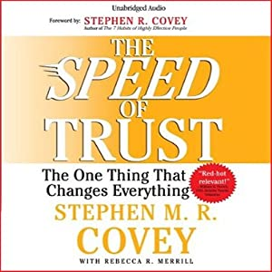 The Speed of Trust Audiobook