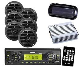 Enrock New 2012 Boat AM FM Player Remote 6x 6.5\
