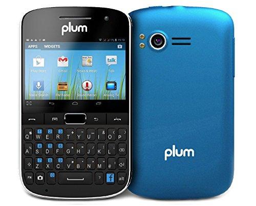 "Plum Velocity Ii Unlocked Dual Sim Android Smartphone (Blue) - 2.6"" Display Gsm Quadband 4G/Hspa+"