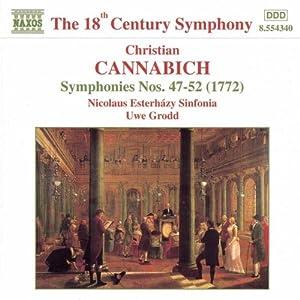 Cannabich: Symphony Nos. 47-52
