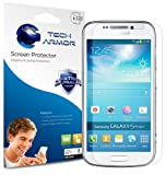 Tech Armor Samsung Galaxy S4 ZOOM Smartphone Premium High Definition (HD) Clear Screen Protector with Lifetime Replacement Warranty [3-PACK] - Retail Packaging
