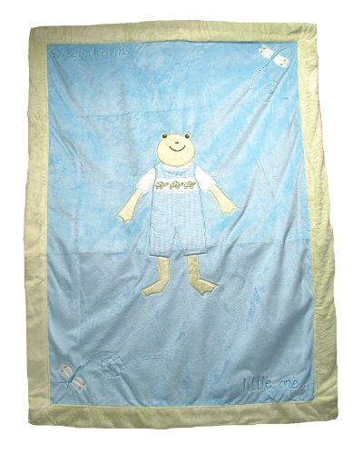 Kelly B. Rightsell Designs Baby Blanket, Henry Boy, 30X40""