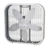 Holmes HBF2010A-WM 20 Inch Box Fan, White