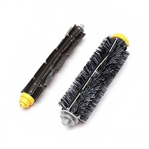 Bristle Brush Flexible Beater Brush For Irobot Roomba 600/700 Series front-509005