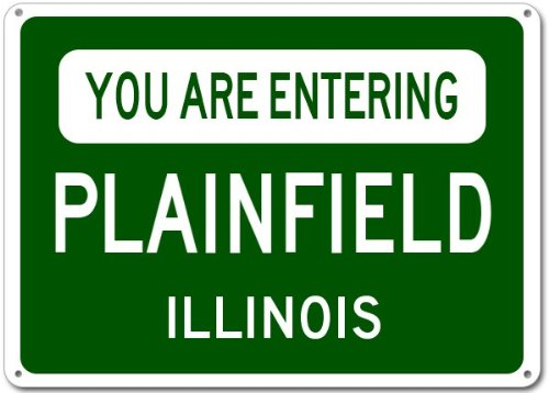 Plainfield City Sign