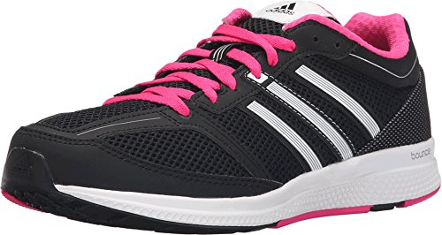 Adidas Performance Women's Mana RC Bounce Running Shoe,Black/Silver/White,8 M US
