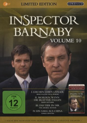 Inspector Barnaby, Vol. 10 (Limited Edition, 4 Discs + Audio-CD)