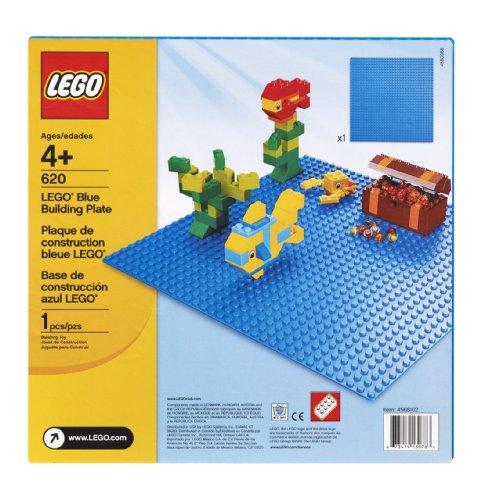 Imagen de LEGO Bricks & placa de construcción más Blue - 32 x 32 Clavos (10