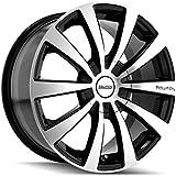 "Touren TR3 3130 Black Wheel with Machined Face (17x7""/10x100mm)"