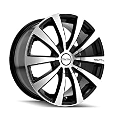 Touren TR3 3130 Black Wheel with Machined Face (17×7″/10x100mm)