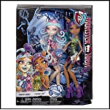 Monster High Scare And Make-Up Two Pack Featuring Viperine Gorgon And Clawdeen Wolf Dolls