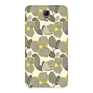 Unknown Creature Print Back Case Cover for Galaxy Note 3 Neo