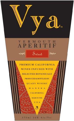 Nv Quady Vya Sweet Vermouth Blend - Red 375 Ml