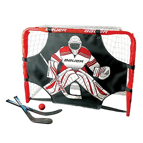 BAUER-Deluxe-Knee-Hockey-Tor-Set-305-77x58x34cm