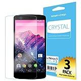 【国内正規品】SPIGEN SGP Google Nexus5 クリスタル [液晶保護フィルム]【SGP10559】