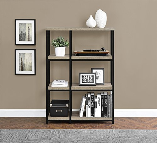 Altra Elmwood Bookcase, Sonoma Oak Altra 3 Shelf Bookcase