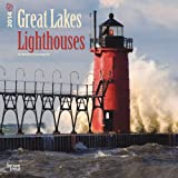 img - for Great Lakes Lighthouses 18 Month 2014 Calendar (Multilingual Edition) book / textbook / text book