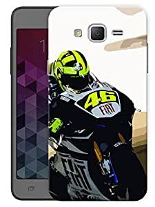 "Humor Gang Rosso Motogp Printed Designer Mobile Back Cover For ""Samsung Galaxy Grand 2"" (3D, Matte, Premium Quality Snap On Case)"