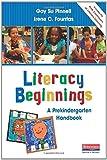 img - for Literacy Beginnings: A Prekindergarten Handbook book / textbook / text book