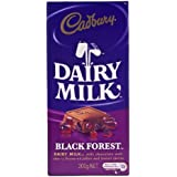 Cadburys Dairy Milk Black Forest 200g Bar