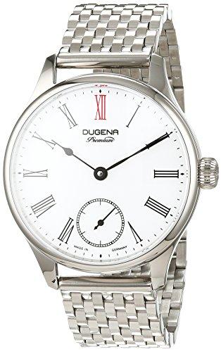 Dugena reloj de pulsera para hombre Epsilon 4Analog cuerda manual acero inoxidable 7090058