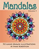 img - for Mandalas: 50 Hand Drawn Illustrations (Volume 5) book / textbook / text book