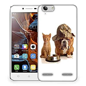 Snoogg Hungry For Food Designer Protective Phone Back Case Cover For Lenovo K5 Vibe