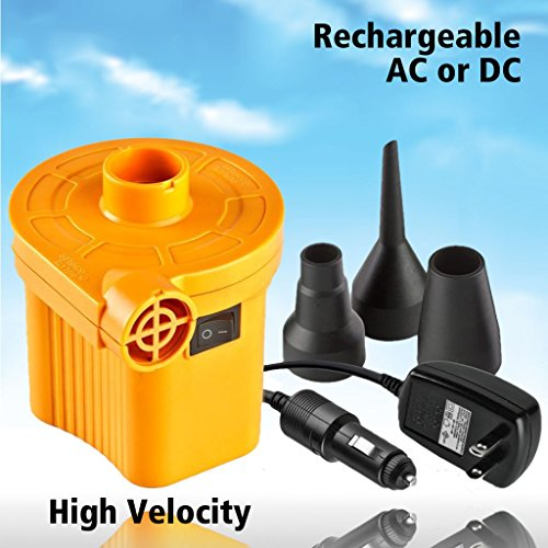 Soleaire Pumps Universal Rechargeable Ac Dc Inflatable Air