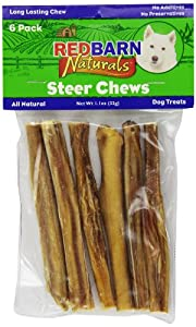 REDBARN PET PRODUCTS 416151 6-Pack Steer Stick for Pets, 5-Inch