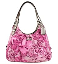 Hot Sale NEW AUTHENTIC COACH MADISON FLORAL MAGGIE (Pink/Multi)