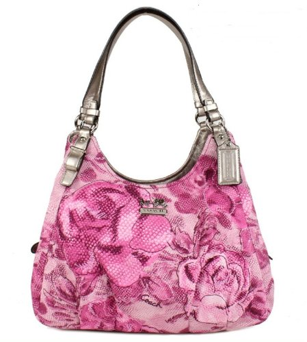 NEW AUTHENTIC COACH MADISON FLORAL MAGGIE (Pink/Multi)