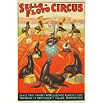 Sells - Floto Circus - Seals Vintage Poster USA c. 1932 (9x12 Collectible Art Print, Wall Decor Travel Poster)