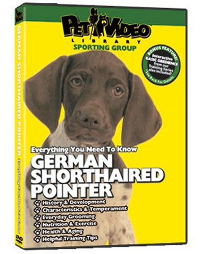 German Shorthaired Pointer Dvd: Everything You Should Know + Dog & Puppy Training Bonus