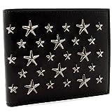 ジミーチュウ JIMMY CHOO 二つ折り財布 折財布 STAR STUDS スタースタッズ MARK BLS 144 BLACK/GUNMETAL [並行輸入品]