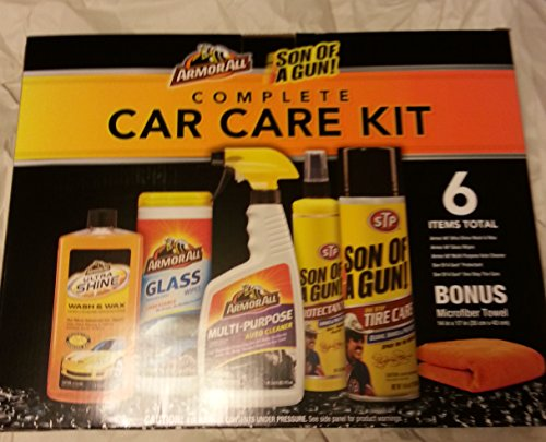 top products best review armor all 6 piece car care kit automotive car care interior care. Black Bedroom Furniture Sets. Home Design Ideas