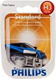 Philips H3 Standard Headlight Bulb, Pack of 1