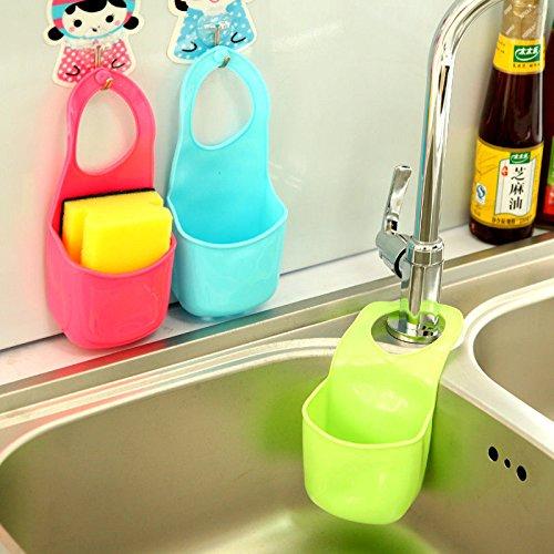 GreenSun(TM) Hot Creative Kitchen Sink Bathroom Hanging Strainer Organizer Storage Sponge Holder Bag Tool #71178 (Two Seater Hot Tub compare prices)