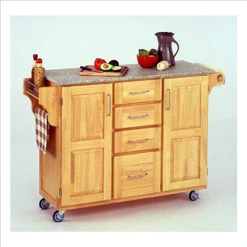Good Home Styles Create a Cart Series Cuisine Cart with Salt