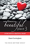 img - for Rock Bottom Is a Beautiful Place 3: Living With A Grateful Heart book / textbook / text book
