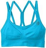Acquista Zumba Fitness, Reggiseno sportivo Donna, Blu (Bangin Blue), L