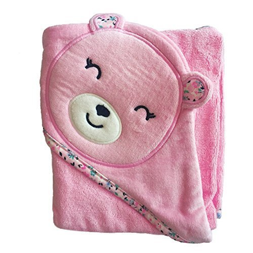 Carter's Hooded Towel - Pink Bear (Hooded Towels Carters compare prices)