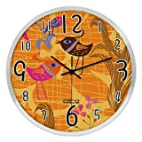 HJZ nc0320 ciseaux de coupe de cheveux signe boutique de peigne au néon conduit horloge murale...