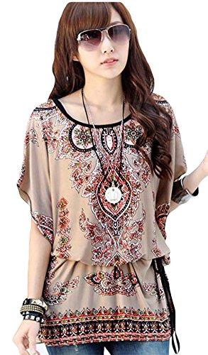 L Go Render of Round Collar Short Sleeve T-shirt Unlined Upper Garment (25472)