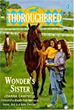 Wonder's Sister (Thoroughbred) (0785759948) by Campbell, Joanna