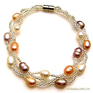 Best power pearl jewelry natural pearl for Best selling jewelry on amazon