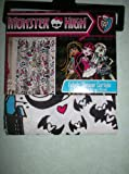 Monster High Fabric Shower Curtain 70 in x 72 in (178 cm x 183 cm)