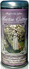 The Dashwood Sister's Barton Cottage – Rose Petal Tea in a Lovely Artistic Decorative Gift Tin….