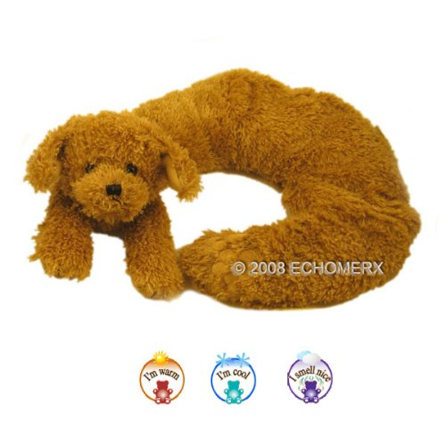 Aroma Dog Collar Wrap - Aromatherapy Stuffed Animal - Hot And Cold Therapy